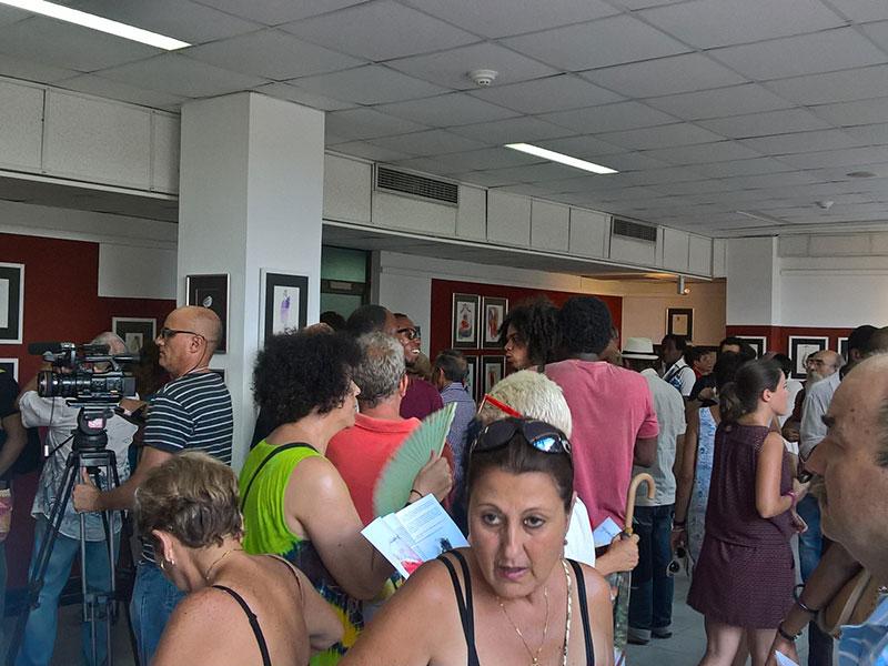 Inauguración Apuntes de Viajes, La Habana 2016